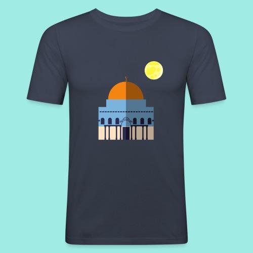 Moon over Quds - Männer Slim Fit T-Shirt