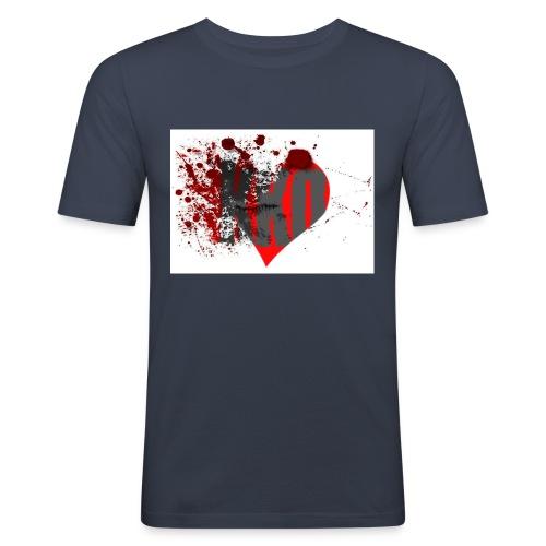 heart break kko - Männer Slim Fit T-Shirt