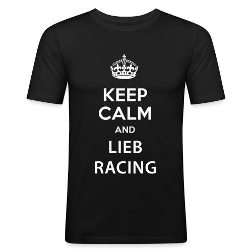 Keep Calm and Lieb Racing - T-shirt près du corps Homme