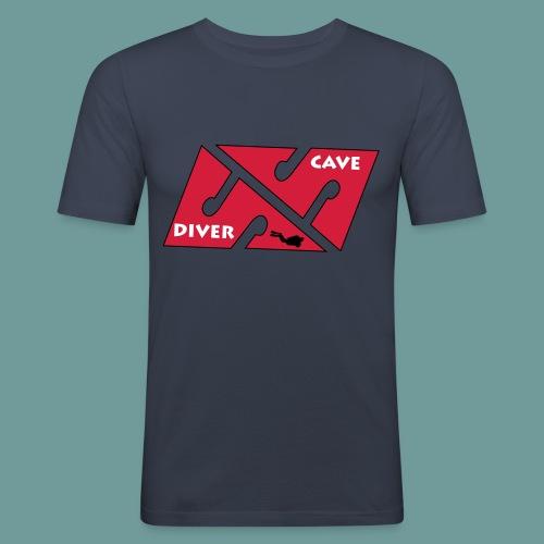 cave_diver_01 - T-shirt près du corps Homme