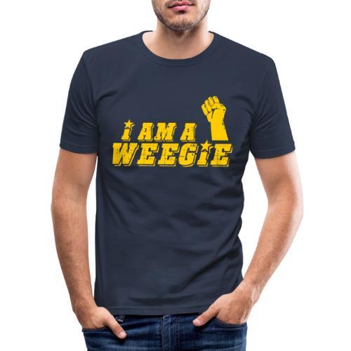 I Am A Weegie - Men's Slim Fit T-Shirt