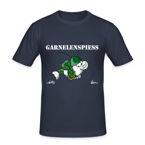 Garnelenspiess - Männer Slim Fit T-Shirt