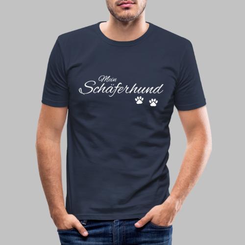 Mein Schäferhund - T-Shirt - Hoodie - Pullover - Männer Slim Fit T-Shirt