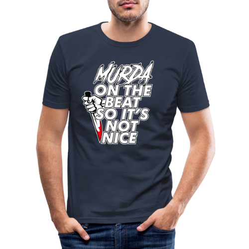 Murda on the beat - T-shirt près du corps Homme