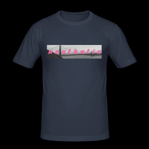aesthetic_V1 - Männer Slim Fit T-Shirt