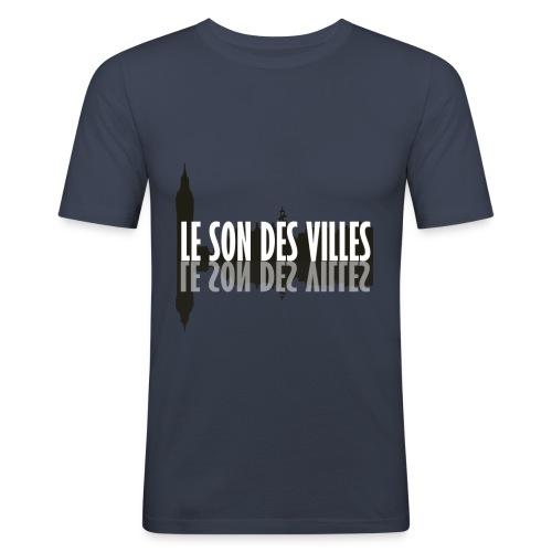 The wall by Le Son Des Villes - T-shirt près du corps Homme