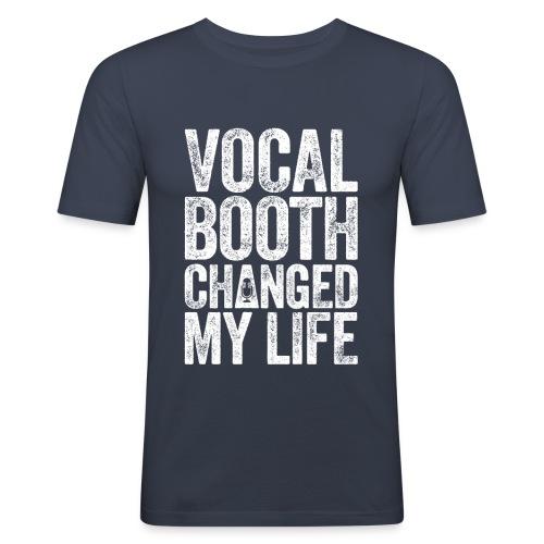 VBCML_white - Men's Slim Fit T-Shirt