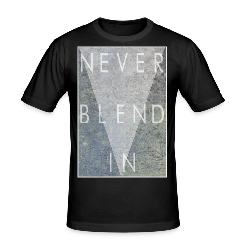Dont Blend IN png - Men's Slim Fit T-Shirt