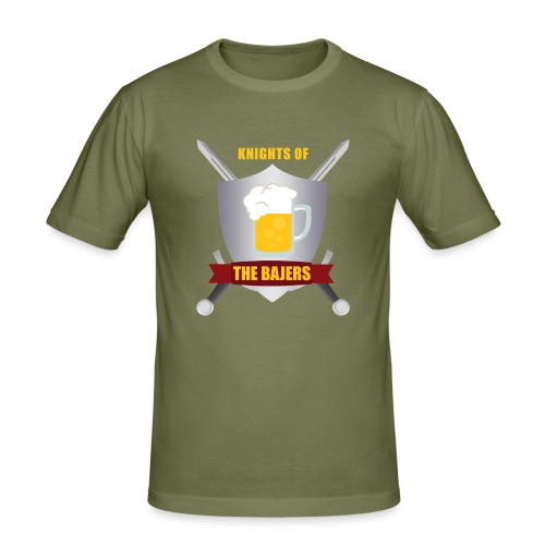 Knights of The Bajers - Herre Slim Fit T-Shirt
