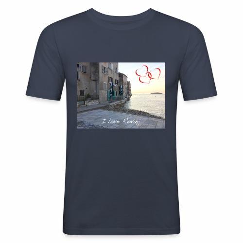 I love Rovinj - Männer Slim Fit T-Shirt