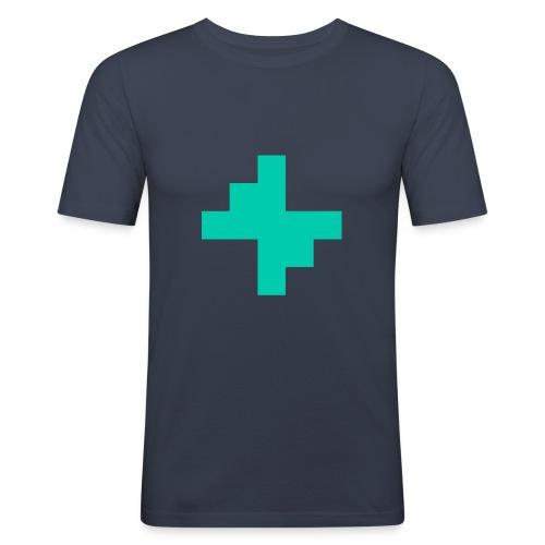 Bluspark Bolt - Men's Slim Fit T-Shirt