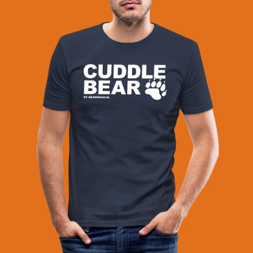 Cuddle Bear - Men's Slim Fit T-Shirt