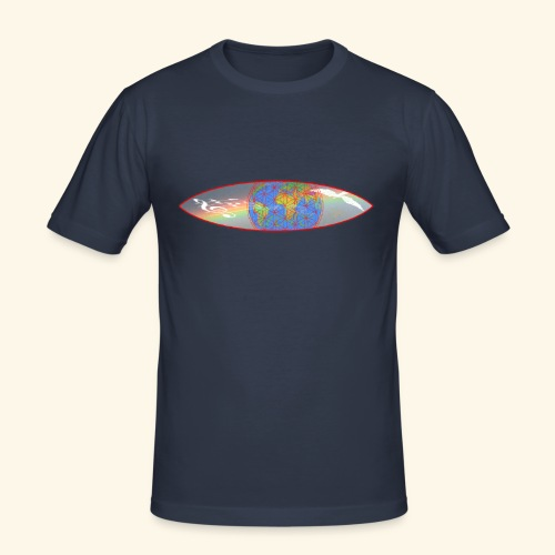 Heal the World - Männer Slim Fit T-Shirt