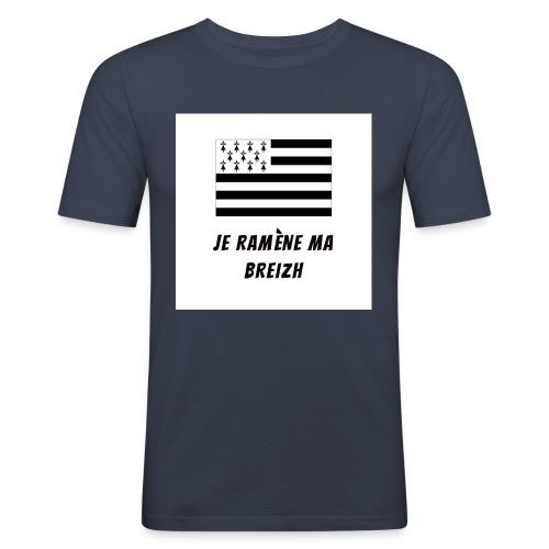 je ramene ma breizh - T-shirt près du corps Homme