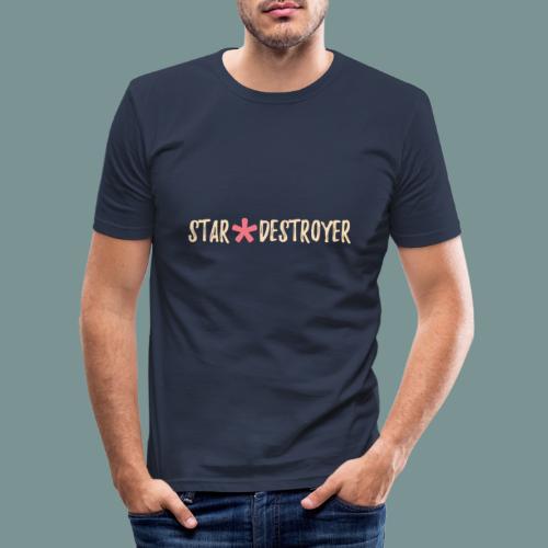Star Destroyer - Mannen slim fit T-shirt