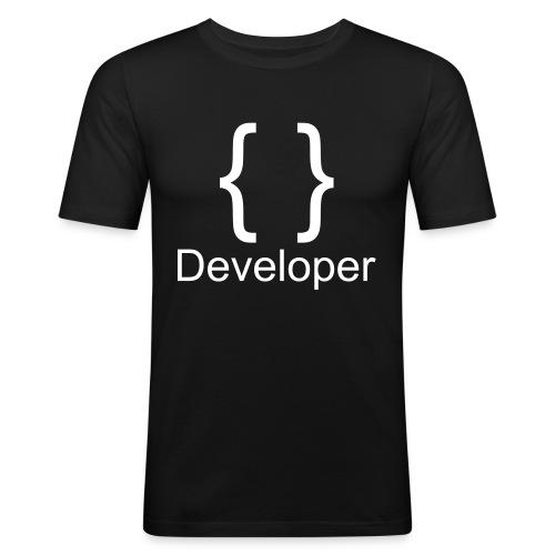 Developer - Männer Slim Fit T-Shirt