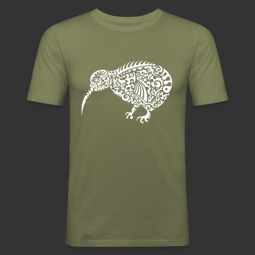 Kiwi Maori - Männer Slim Fit T-Shirt
