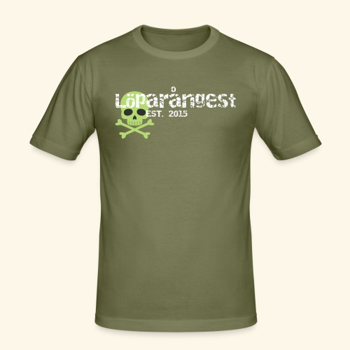 loeparangest - Slim Fit T-shirt herr