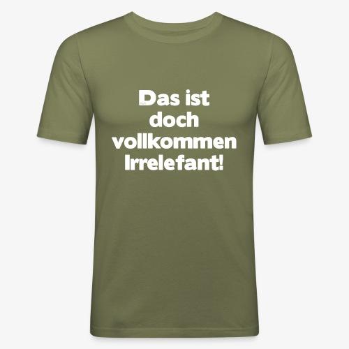 Der Irrelefant - Männer Slim Fit T-Shirt