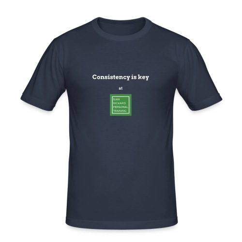 Consistency - Men's Slim Fit T-Shirt