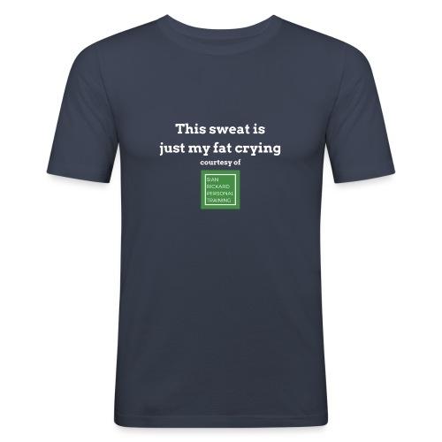 SRPT Fat Crying - Men's Slim Fit T-Shirt