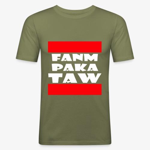 fanm paka taw - T-shirt près du corps Homme