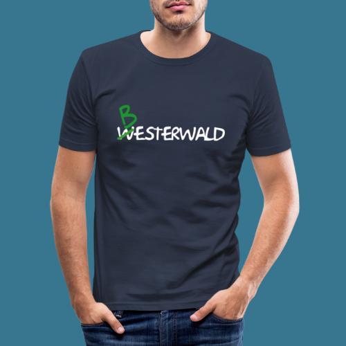 Bester Wald - Männer Slim Fit T-Shirt