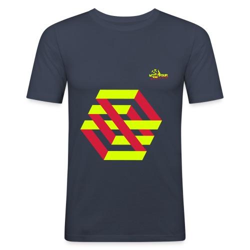 2411 psych - Männer Slim Fit T-Shirt