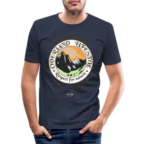 24 Overland LifeStyle - Camiseta ajustada hombre