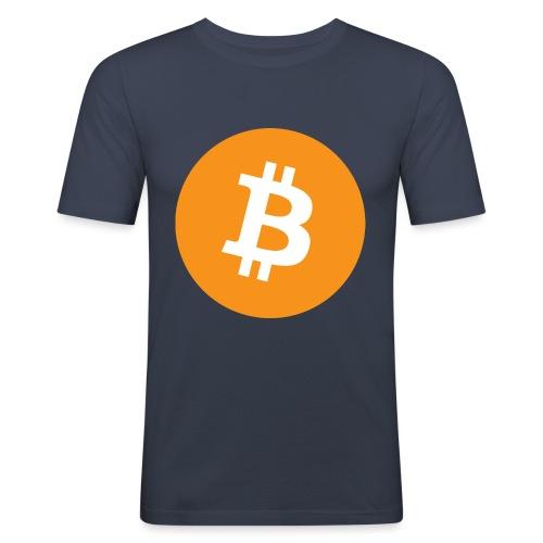 Bitcoin boom - Maglietta aderente da uomo