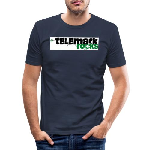 telemark rocks grün - Männer Slim Fit T-Shirt