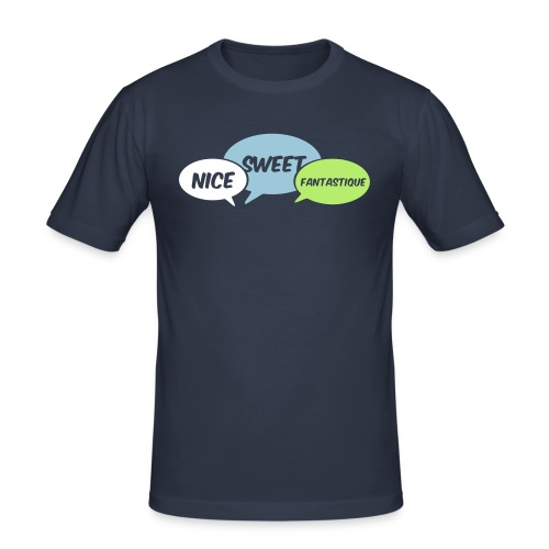 nice_sweet_fantastique_2 - Männer Slim Fit T-Shirt