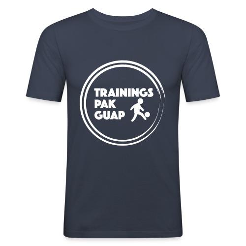 TrainingspakGuap Wit - Mannen slim fit T-shirt