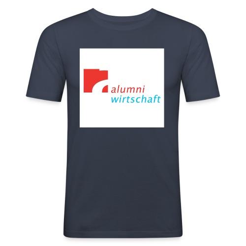 Alumni Logo Idee jpg - Männer Slim Fit T-Shirt