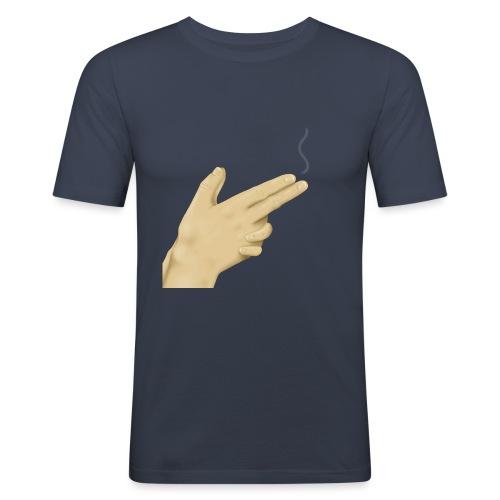 Handgun - Miesten tyköistuva t-paita