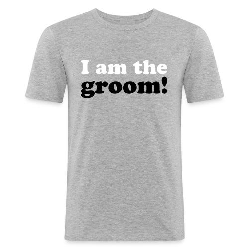 I am the groom! - Männer Slim Fit T-Shirt