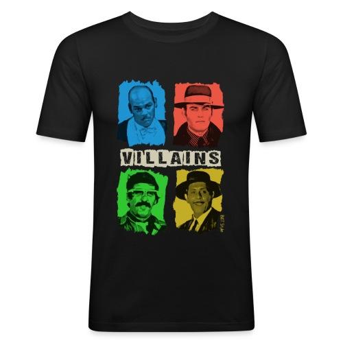 Villains - Maglietta aderente da uomo