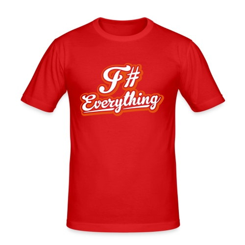 F# Everything - Men's Slim Fit T-Shirt