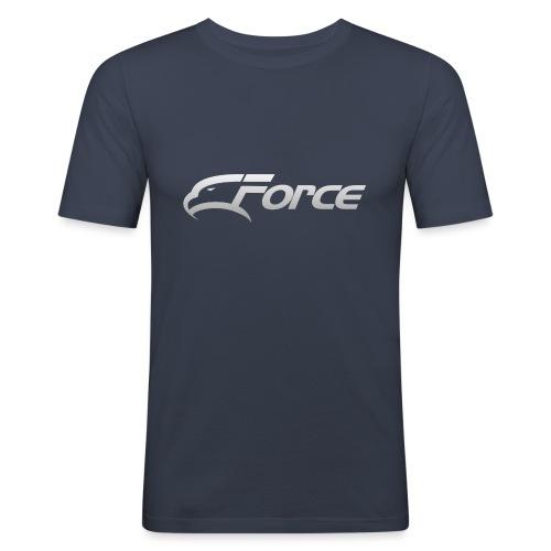Force Silver - Slim Fit T-shirt herr