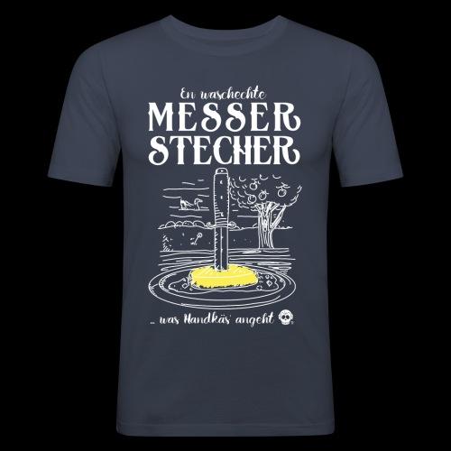 Messerstecher - Männer Slim Fit T-Shirt