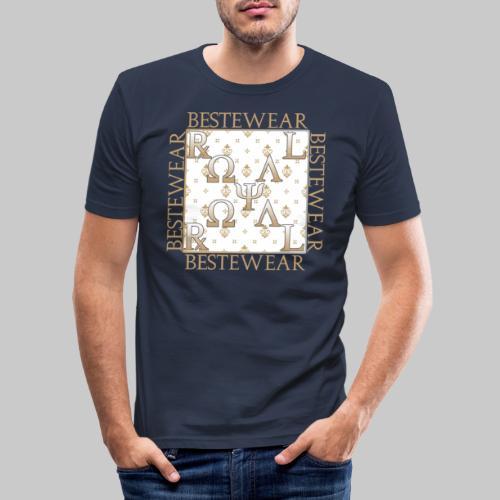 #Bestewear - Royal Line RR - Männer Slim Fit T-Shirt
