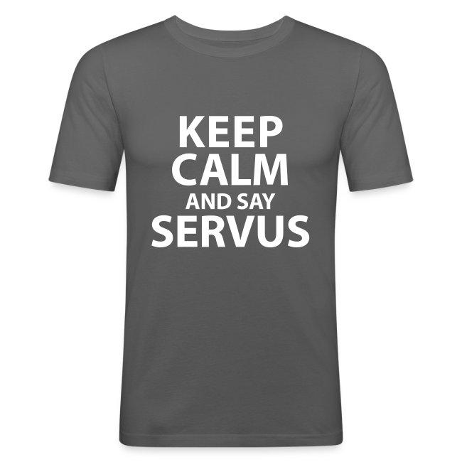 Keep calm and say Servus