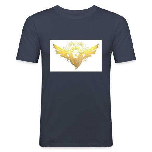 GREEN KOMM Gold - Männer Slim Fit T-Shirt