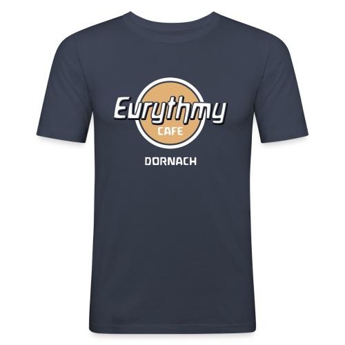 Eurythmy Cafe Dornach mehrfarbig - Männer Slim Fit T-Shirt