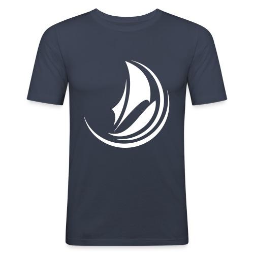 NORTSEASAILINGrond NB - T-shirt près du corps Homme