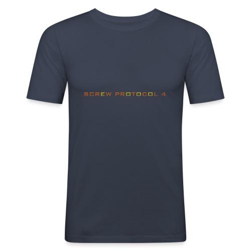 ScrewP4 Final - Men's Slim Fit T-Shirt