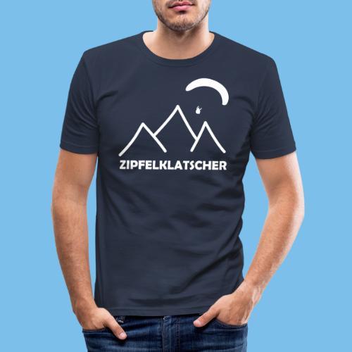 gleitschirmflieger paragliding geschenk T-shirt - Männer Slim Fit T-Shirt
