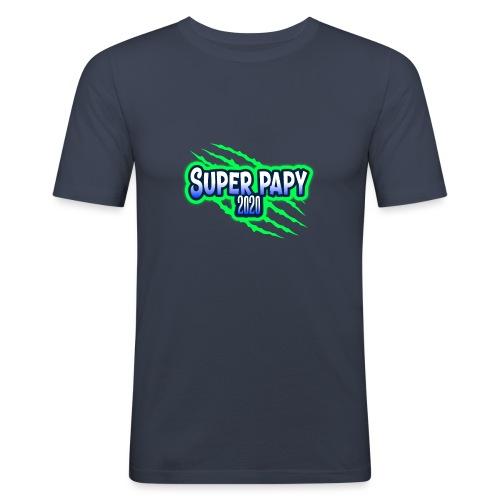 super papy 2020 - T-shirt près du corps Homme