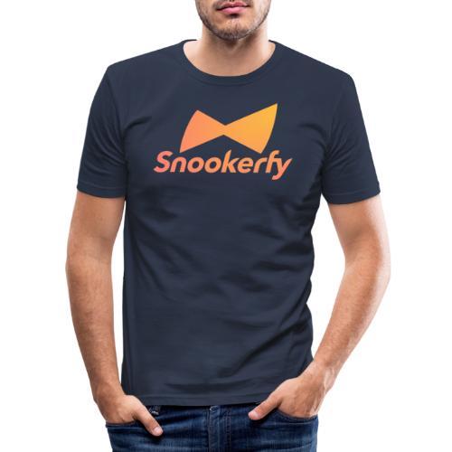 Snookerfy - Men's Slim Fit T-Shirt