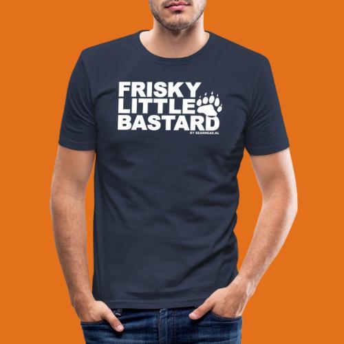 frisky little bastard new - Men's Slim Fit T-Shirt